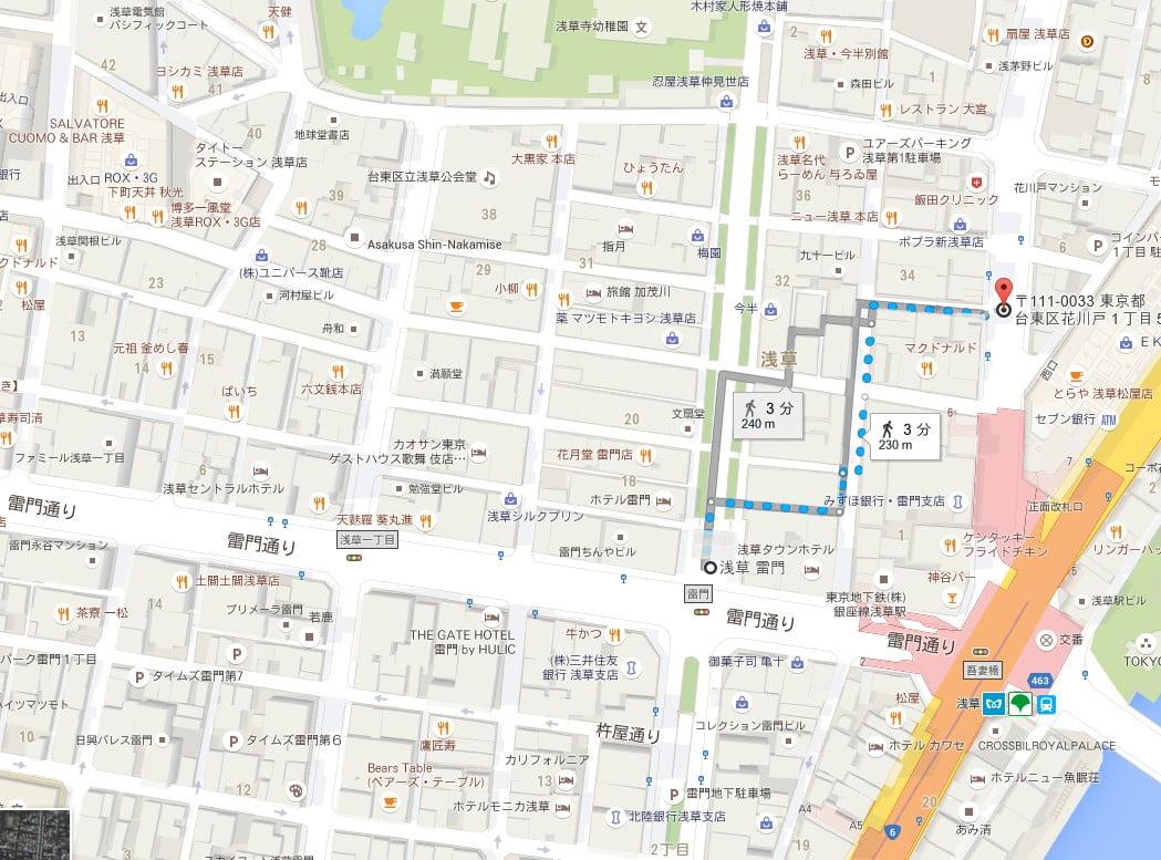 コインパーク花川戸1丁目