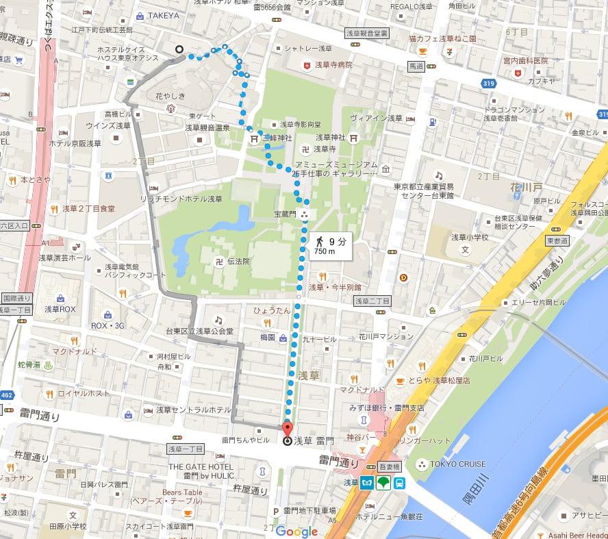 タイムズ浅草第11駐車場 (2)