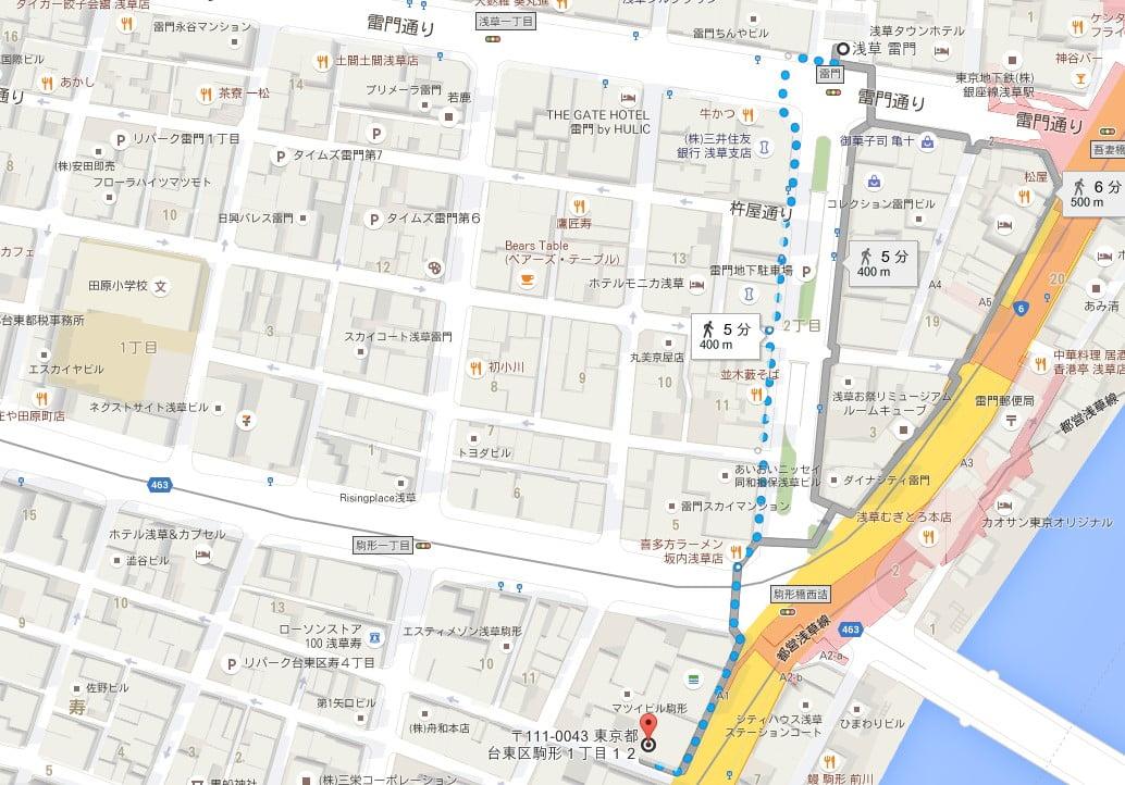 タイムズ駒形1丁目 (2)