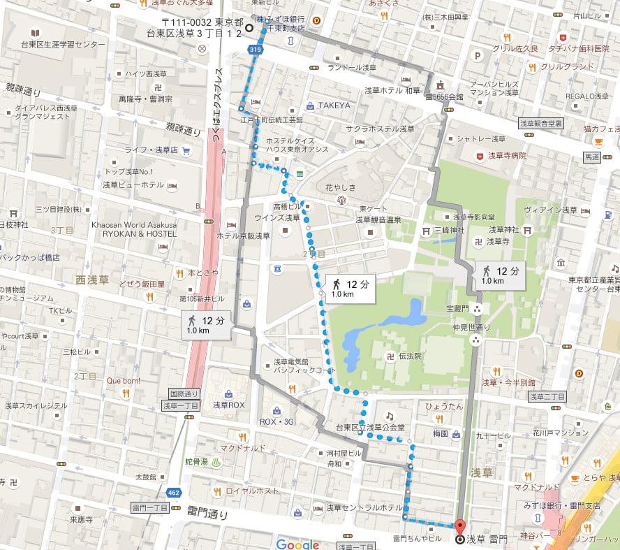 パークジャパン浅草第1駐車場 (3)