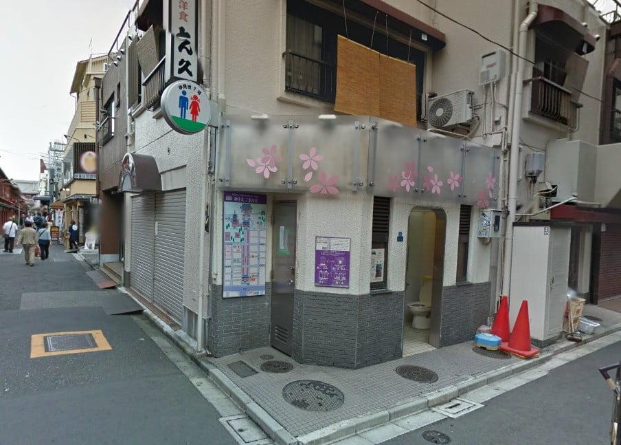 仲見世通り・1号公衆トイレ (2)