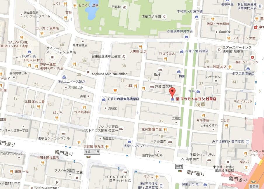 仲見世通り・2号公衆トイレ【地図】