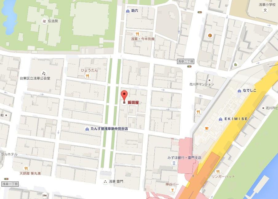 仲見世通り・3号公衆トイレ【地図】 (2)
