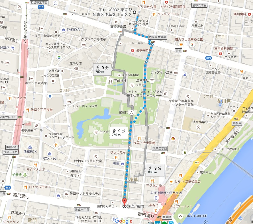 浅草柳通り駐車場 (2)