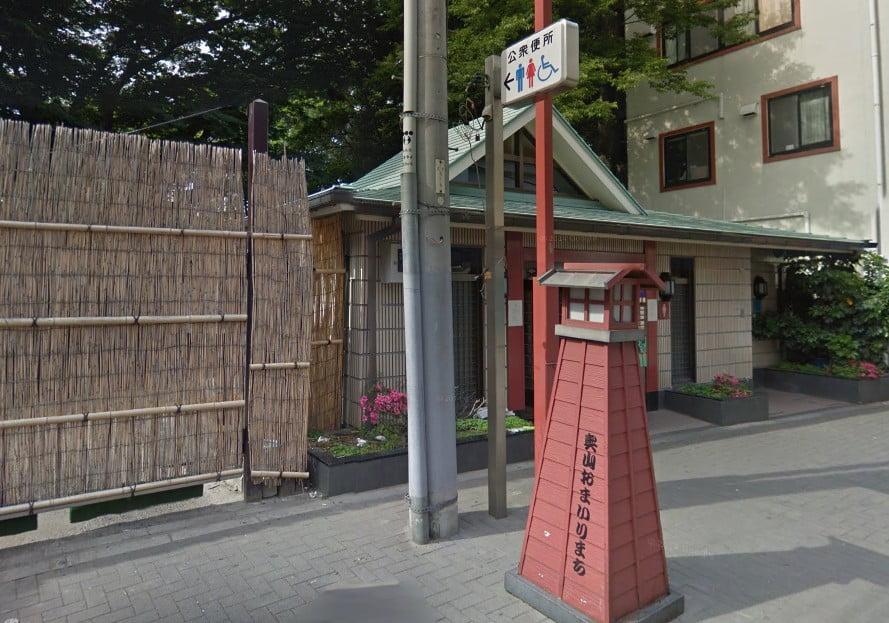 浅草 木馬館前・公衆トイレ