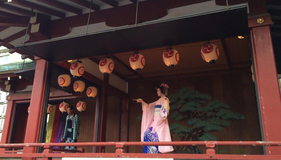 浅草・三社祭・奉納舞踊