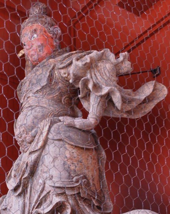 浅草寺・二天門・仏像