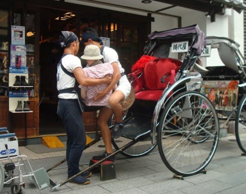 浅草・浅草寺には、「車椅子」や「ベビーカー」で入場できる?「レンタル・バリアフリー情報」1