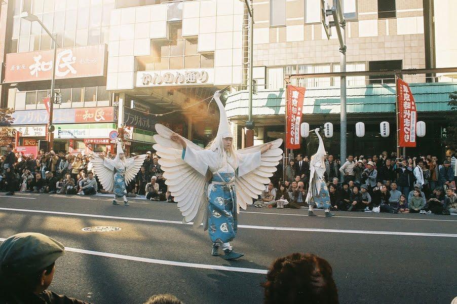浅草寺白鷺の舞