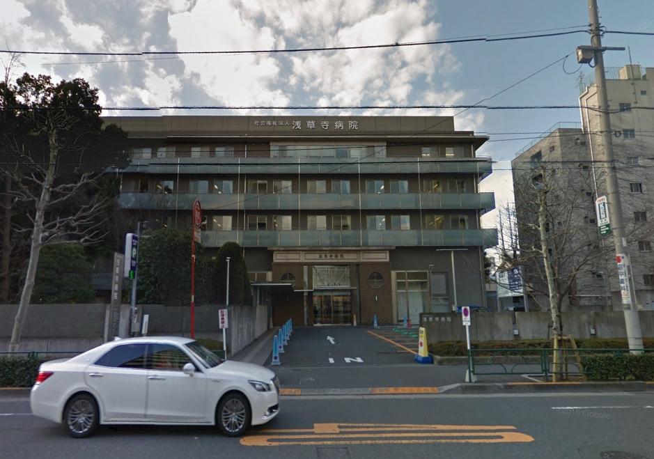 浅草寺 念仏堂(現・浅草寺病院)