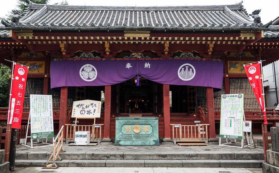 浅草神社・拝殿