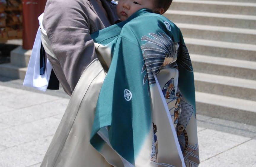 初宮参り記念写真
