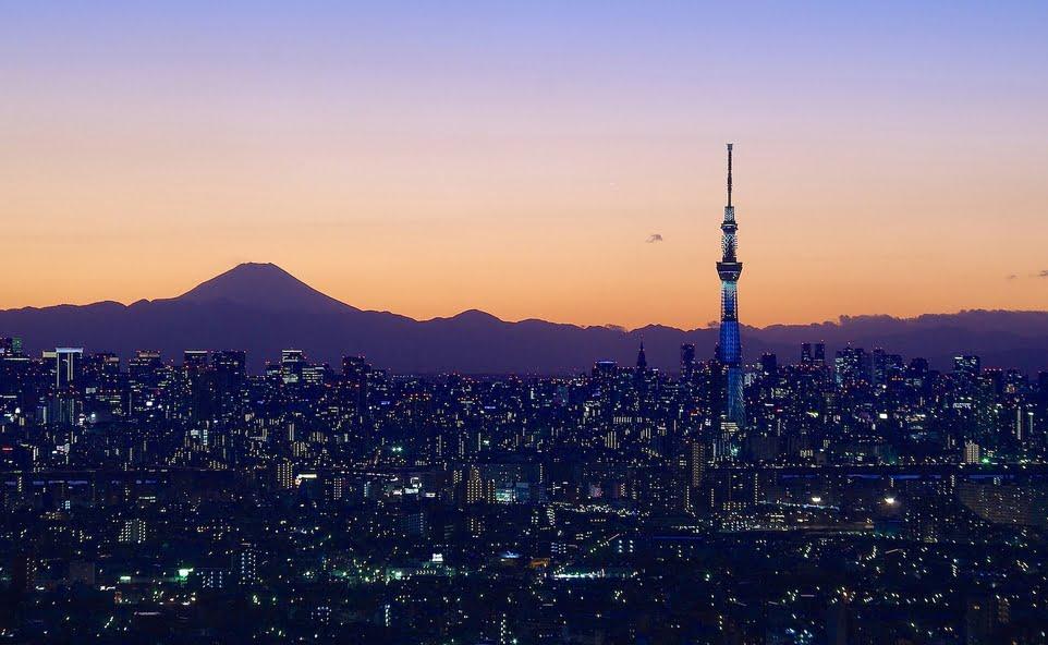 東京スカイツリーの展望デッキ