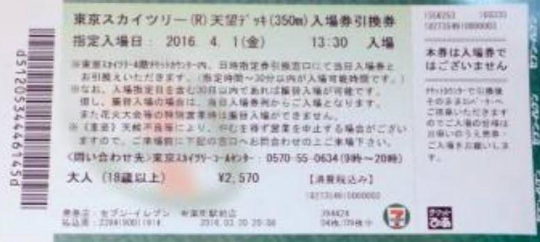 東京スカイツリー・セブンイレブン