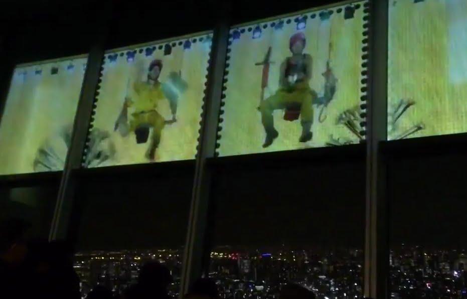 東京スカイツリー・天空ナイトショー1